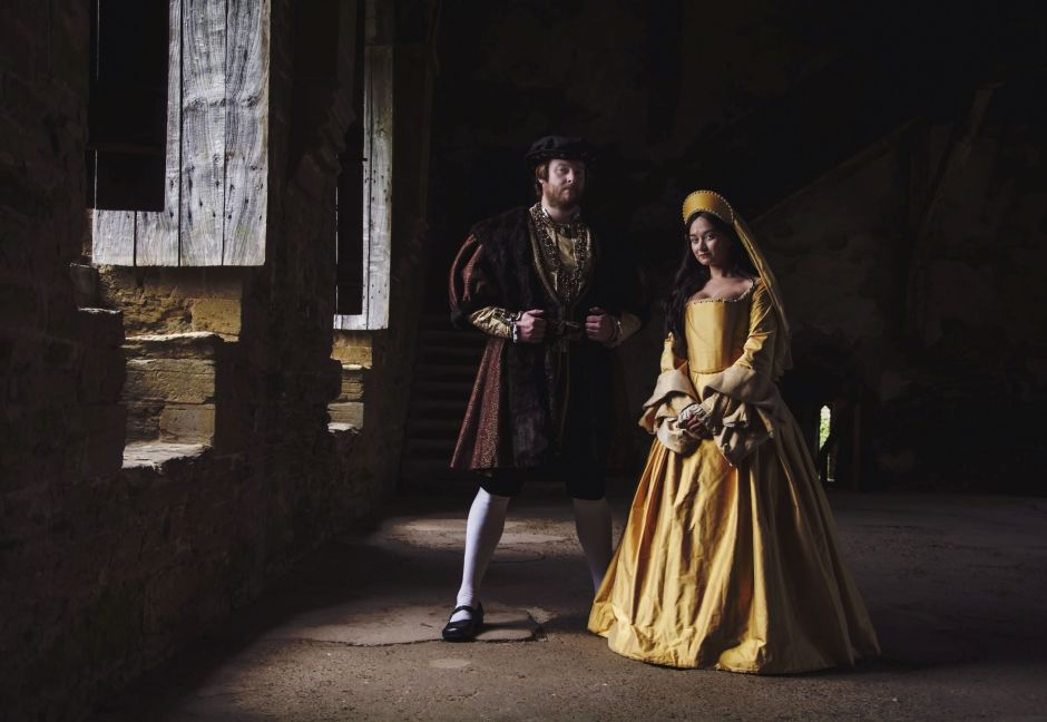 Ben Andrew and Poppy Wilde as Henry VIII and Anne Boleyn #02 50%